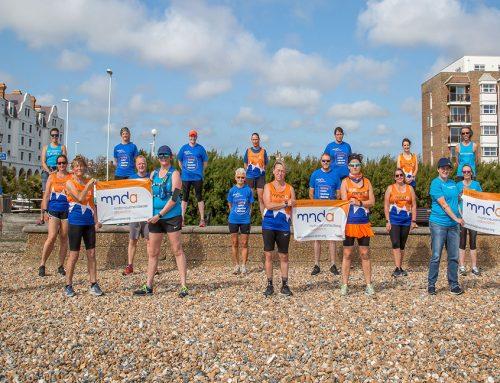 Worthing running club rallies to raise charity funds