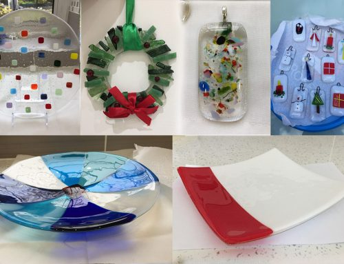 Buy handcrafted glassware and support our branch